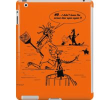 Zoo Humour - Cartoon 0006 iPad Case/Skin