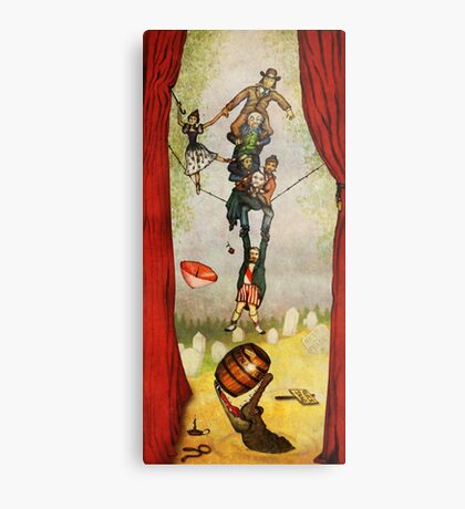 Haunted Mansion - Stretching Combo Metal Print