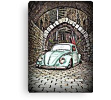 Gangster Bug Canvas Print