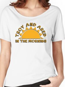 Community - Troy and Abed in the morning Women's Relaxed Fit T-Shirt