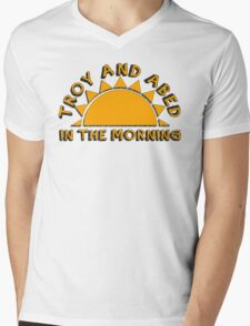 Community - Troy and Abed in the morning Mens V-Neck T-Shirt