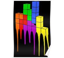 Tetris Melt Poster