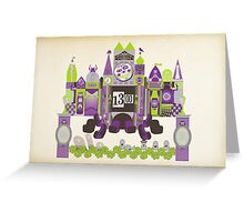 Is This Small World Actually Stretching? Greeting Card