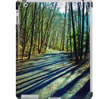 Trees Line the Path iPad Case/Skin