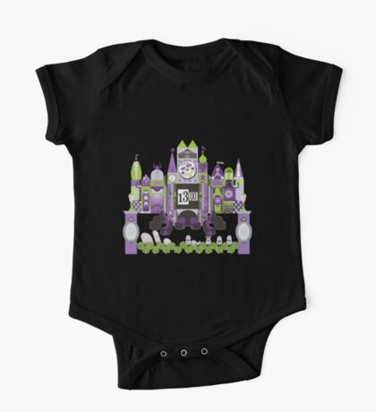 Is This Small World Actually Stretching? (for Darker Rides) One Piece - Short Sleeve