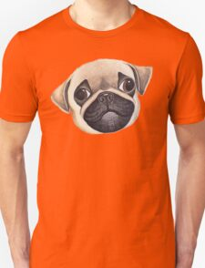 Peekaboo! Baby Pug. Unisex T-Shirt