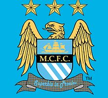Manchester City Blue by achmadbuchory