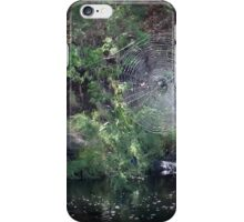 Web over the river iPhone Case/Skin