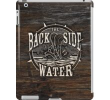 Back Side of Water (White) iPad Case/Skin