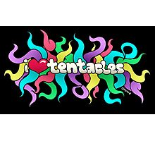 I ♥ Tentacles Photographic Print
