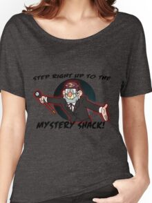 Step right up to the mystery shack Women's Relaxed Fit T-Shirt