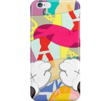 kaws paws 2 mickey   iPhone Case/Skin