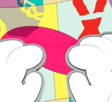 kaws paws 2 mickey   Sticker