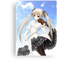 Haruka - connection of the sky Canvas Print