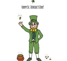 Leprechaun, Happy St. Patrick's Day! by NatashaPankina