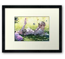 Haruka Kasugano Framed Print