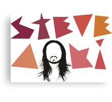 STEVE AOKI FACE Canvas Print
