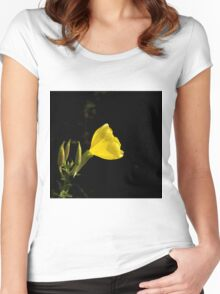 Common Evening Primrose Women's Fitted Scoop T-Shirt