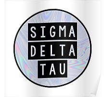 Sigma Delta Tau Poster