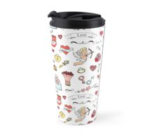 Happy Valentine's Day background Travel Mug