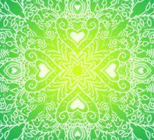 - Mandala green - Sticker