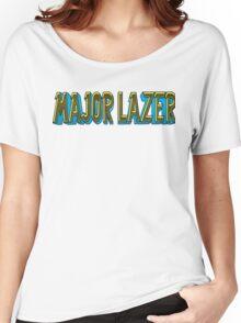 MAJOR LAZER BASIC FONT Women's Relaxed Fit T-Shirt