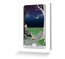 The High Priestess Greeting Card