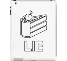 The Cake is a Lie - Portal iPad Case/Skin
