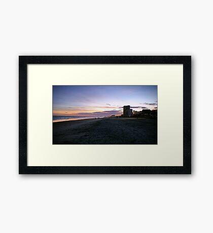 Sunset at Cherry Grove Framed Print