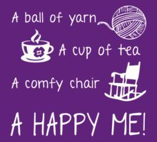 Knitting - A ball of yarn by Butterfly Lover