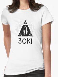 STEVE AOKI THE EYE 3OKI Womens Fitted T-Shirt