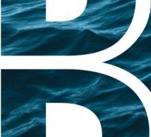 """The Letter """"B"""" Ocean Sticker"""