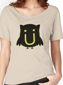 JACK U THE OWL Women's Relaxed Fit T-Shirt