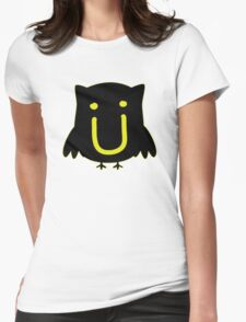 JACK U THE OWL Womens Fitted T-Shirt