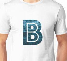 """The Letter """"B"""" Ocean Unisex T-Shirt"""