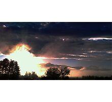 """Subtle Sunrise"" Photographic Print"