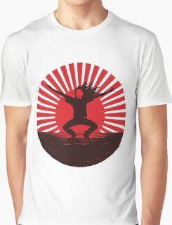 STEVE AOKI THE SUN Graphic T-Shirt