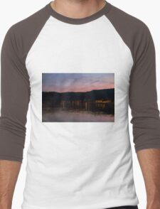landscape lake Men's Baseball ¾ T-Shirt