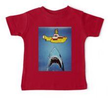 Jaws-Yellow Submarine  Baby Tee