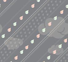 Confetti Rain by Corinna Djaferis