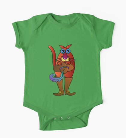 Puss in boots One Piece - Short Sleeve