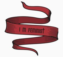I'm Feminist One Piece - Long Sleeve