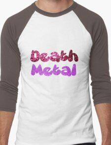 Death Metal Men's Baseball ¾ T-Shirt