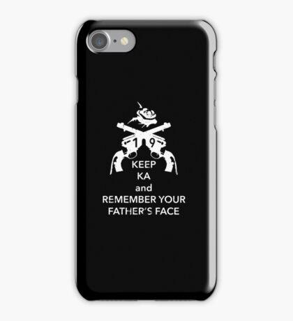 Keep KA - white edition iPhone Case/Skin