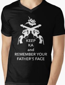 Keep KA - white edition Mens V-Neck T-Shirt