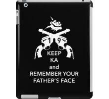 Keep KA - white edition iPad Case/Skin