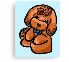 Doodle-y Poodle-y Canvas Print