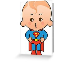 Super Boy Greeting Card