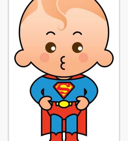 Super Boy Sticker