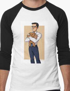 chilton and teddy bear Men's Baseball ¾ T-Shirt